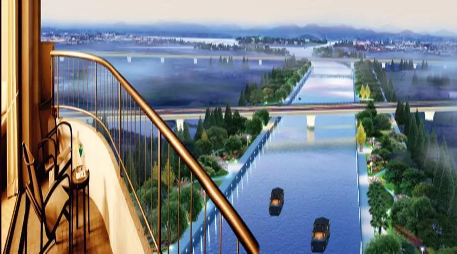 九巨龙·运河岸上的中国院子